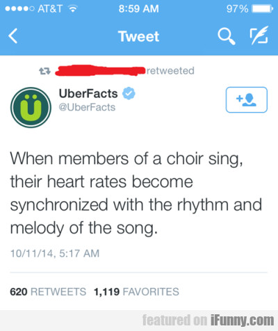 When Members Of A Choir Song