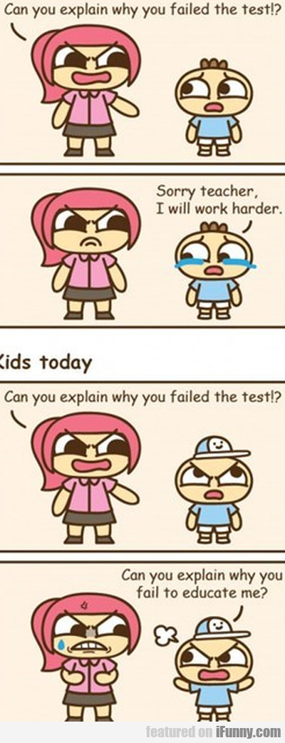 can you explain why you failed