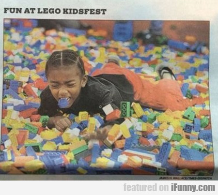 Fun At Lego Kidsfest