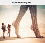 Art Piece At Burning Man...