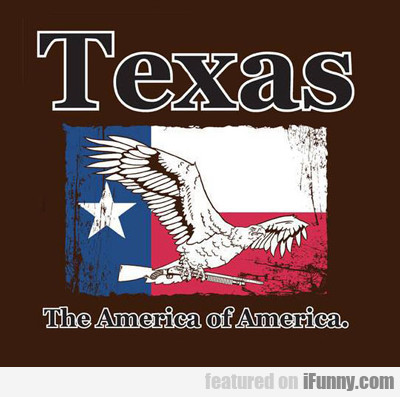 texas: the america of america...