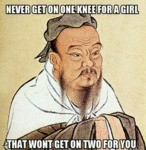 Never Get On One Knee For A Girl...