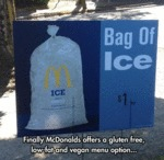 Finally Mcdonald's Offers A Gluten Free...