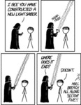 I See You Have Constructed A New Light Saber..