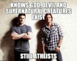 Knows God, Devil And Supernatural Creatures...