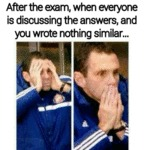After The Exam...