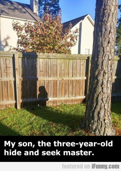 My Son, The Three-years-old