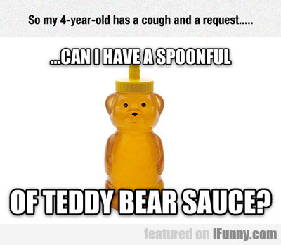 So My Four Year Old Has A Cough...