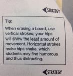 Tip When Erasing A Board Use