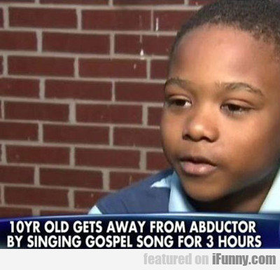 10 Year Old Gets Away From Abductor...