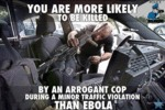 You Are More Likely To Be Killed...