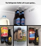 The Refrigerator Bottle Loft Is Genius...