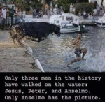 Only Three Men In History Have Walked On Water...