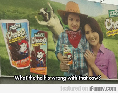 What The Hell Is Wrong With That Cow?