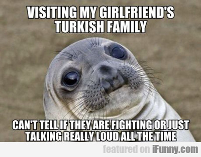 Visiting My Girlfriend's Turkish Family...