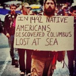 In 1492 Native Americans Discovered...
