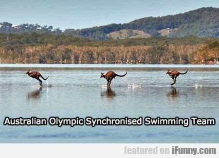 Australian Olympic Synchronised Swimming