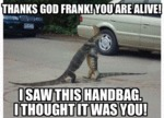 Thanks God Frank...