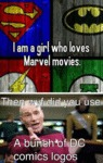 I Am A Girl Who Loves Marvel Movies...
