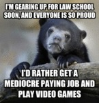 I'm Gearing Up For Law School Soon...