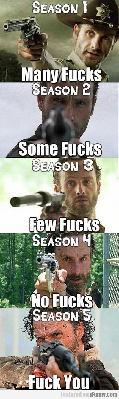 Season 1: Many Fucks...