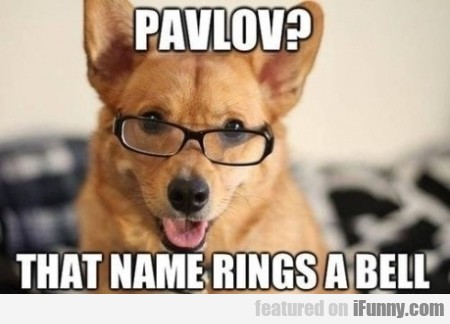 Pavlov That Name Rings A Bell