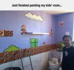 Just Finished Painting My Kids'...