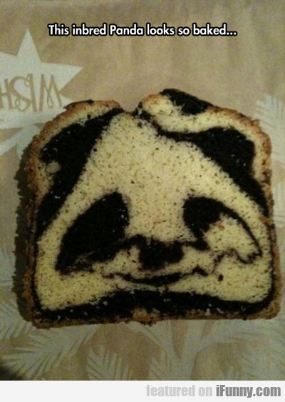 This Inbred Panda Looks So Baked...