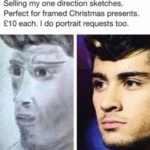 Selling My One Direction Sketches