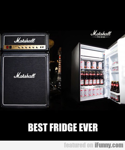 Best Fridge Ever...
