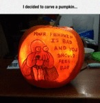 I Decided To Carve A Pumpkin..