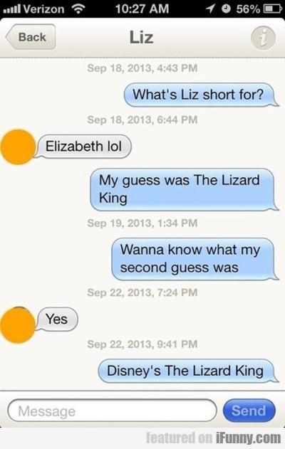 What's Liz Short For