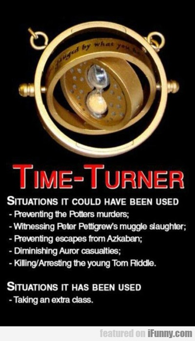Time Turner Situations It Could