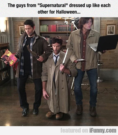 the guys from supernatural...