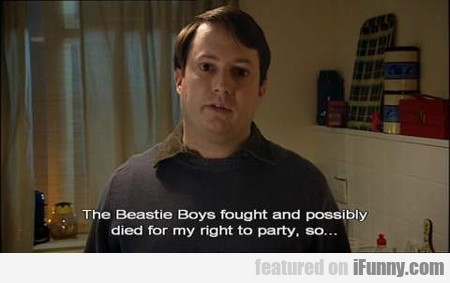 The Beastie Boys Fought And Possibly Died...