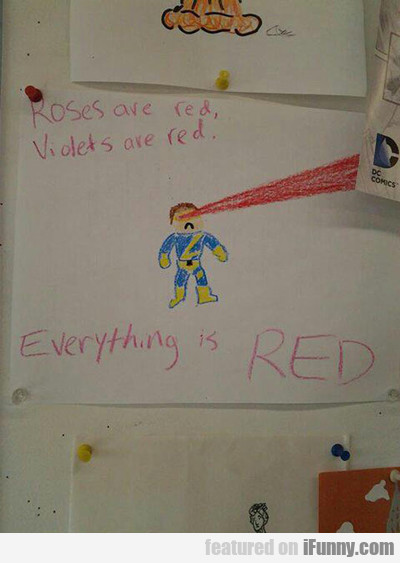 Everything Is Red...