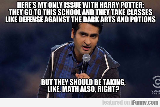 Here's My Only Issue With Harry Potter...
