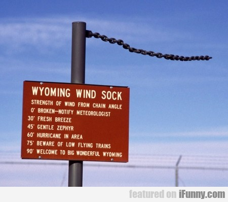 Wyoming Wind Sock