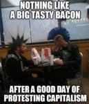 Nothing Like A Big Tasty Bacon...