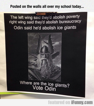 posted on the walls all over my school today...