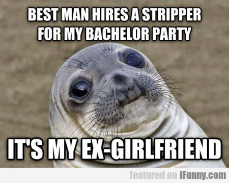 Best Man Hires A Stripper...