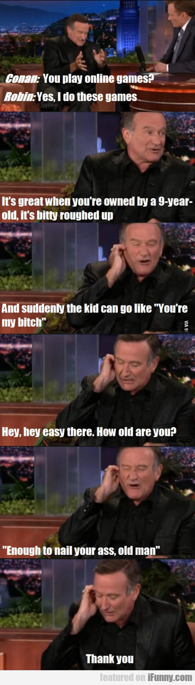 Conan: You Play Online Games?
