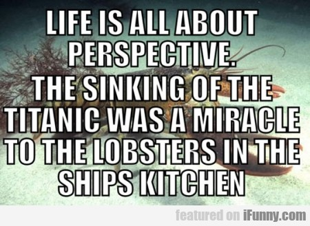 Life Is All About Perspecitve
