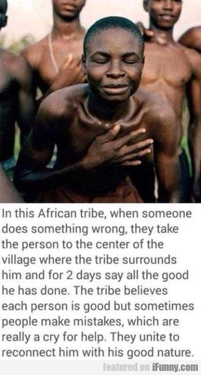 In This African Tribe