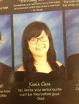 No Xenia, Your Senior Quote Can't Be Fries...