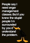 People Say I Need Anger