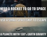 Need A Rocket To Go To Space...