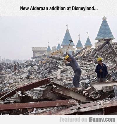 New Alderaan Addition At Disneyland...