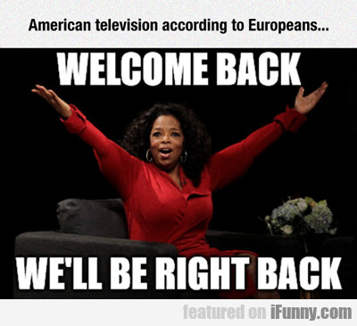 American Television According To Europeans...