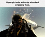 Fighter Pilot Selfie...